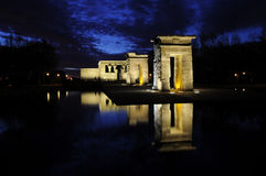 Templo de Debod Royalty Free Stock Photos