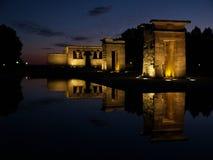 Templo de Debod en España Imagen de archivo libre de regalías