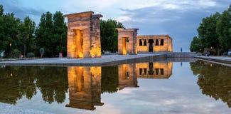 Templo de debod Madri Fotos de Stock Royalty Free