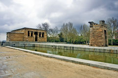 Templo de Debod, Madrid Stock Photo