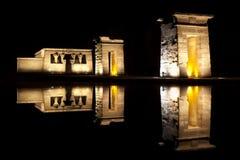 Templo de Debod, Madrid Imágenes de archivo libres de regalías