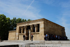 Templo de Debod - Madrid Foto de archivo