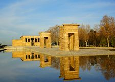 Templo de Debod Royalty Free Stock Photography