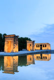 Templo de debod in Madrid Royalty Free Stock Photos
