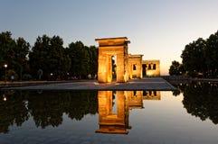 Templo de Debod Royalty Free Stock Photo