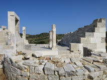 Templo de Demetra imagen de archivo libre de regalías