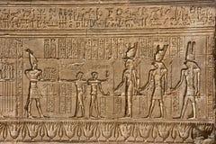 Templo de Dendera Fotos de archivo