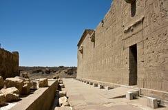 Templo de Dendera Fotos de archivo libres de regalías