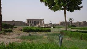 Templo de Dendera o templo de Hathor Egipto Dendera, Denderah, es una pequeña ciudad en Egipto Complejo del templo de Dendera, un almacen de metraje de vídeo