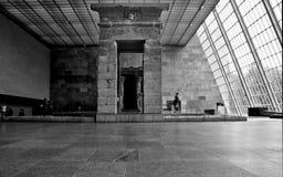 Templo de Dendur Pasillo imagen de archivo