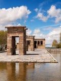 Templo de Depod, Madrid, Spagna Fotografia Stock Libera da Diritti