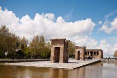 Templo de Depod, Madrid, Spanien Royaltyfria Foton