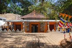 Templo de Dhowa Raja Maha Viharaya, Sri Lanka fotos de stock