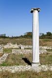 Templo de Dionysus en Dion, Grecia fotos de archivo