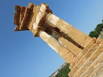 Templo de Dioscuri Fotografia de Stock