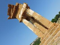 Templo de Dioscuri Imagens de Stock Royalty Free