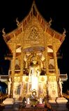 Templo de Doi Shuthep foto de archivo