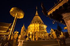 Templo de Doi Suthep Fotografía de archivo