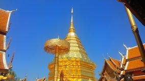 Templo de Doi Suthep imágenes de archivo libres de regalías