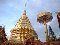 Templo de Doisuthep Fotos de Stock Royalty Free