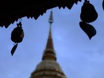 Templo de Doisuthep Foto de Stock Royalty Free