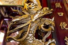Templo de Dragon Chinese foto de archivo libre de regalías