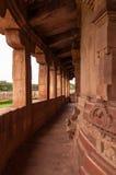Templo de Durga en Aihole imagen de archivo