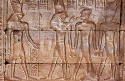 Templo de Edfu Imagem de Stock Royalty Free