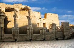 Templo de Edfu Foto de Stock