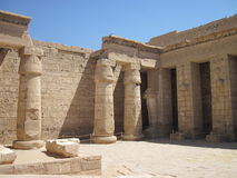 Templo de Edfu em Egipto fotografia de stock royalty free