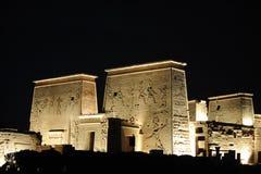 Templo de Egipto de Philae Fotos de archivo