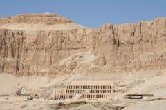 Templo de Egipto Hatschepsut Foto de archivo