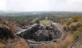 Templo de Ellora Kailasanathar Imagen de archivo libre de regalías