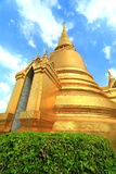 Templo de Emerald Buddha; nome oficial completo Wat Phra Si Rattana Satsadaram em Banguecoque, Tailândia Foto de Stock Royalty Free