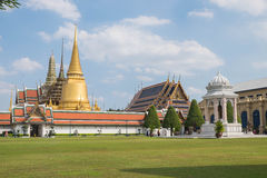 Templo de Emerald Buddha (Wat Phra Kaew), Tailândia Imagens de Stock Royalty Free
