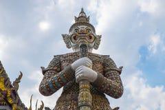 Templo de Emerald Buddha (Wat Phra Kaew), Tailândia Foto de Stock