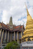 Templo de Emerald Buddha (Wat Phra Kaew), Tailândia Imagens de Stock