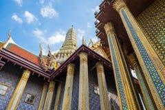 Templo de Emerald Buddha (Wat Phra Kaew), Tailândia Imagem de Stock Royalty Free