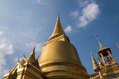 Templo de Emerald Buddha (Wat Phra Kaew), Tailândia Fotos de Stock