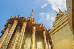 Templo de Emerald Buddha (Wat Phra Kaew), Tailândia Fotografia de Stock Royalty Free