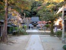 Templo de Engakuji - Kamakura, Japão fotografia de stock