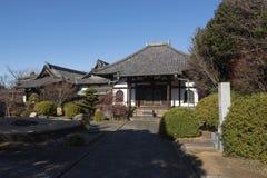 Templo de Enmei-ji em Yanaka, Tóquio - Japão Fotografia de Stock