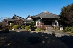 Templo de Enmei-ji em Yanaka, Tóquio - Japão Imagem de Stock