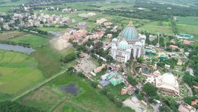 Templo de Enverment Mayapur Mayapur, sede de ISKON fotografia de stock royalty free