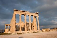 Templo de Erechtheum Imagen de archivo