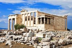 Templo de Erectheion Imagem de Stock Royalty Free