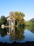 Templo de Esculapio, Roma Foto de archivo libre de regalías