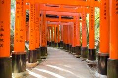 Templo de Fushimi Inari, Kyoto, Japón Fotos de archivo libres de regalías