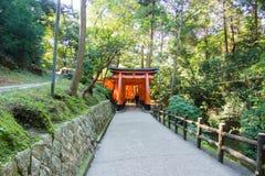 Templo de Fushimi Inari, Kyoto, Japón Foto de archivo