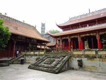 Templo de Fushun fotos de archivo
